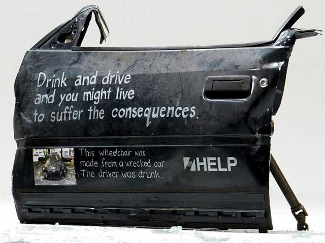 Drink and drive and you might live to suffer the consequences