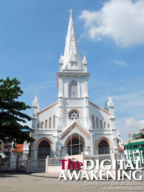 The magnificent Church of St. Anthony at Jalan Robertson in Pudu, Kuala Lumpur