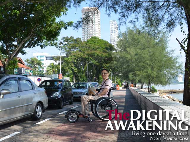 FreeWheel Wheelchair Attachment in Gurney Drive, Penang, Malaysia
