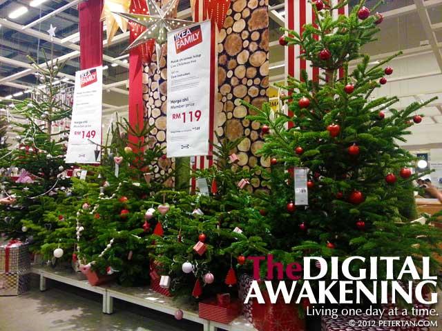 Ikea Malaysia Christmas trees