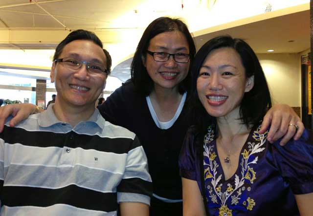 Meeting with Phyllis Wong and Jocelyn Ting at Little Penang, Mid Valley Megamall