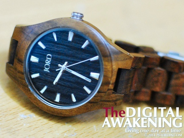 Wood watch JORD Fieldcrest