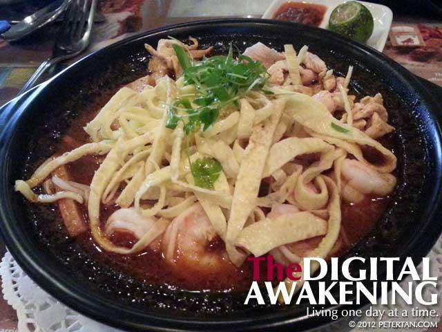 First taste of Sarawak laksa