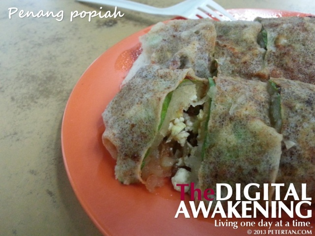 Popiah from Batu Lanchang Market food court