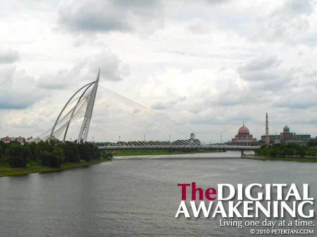 Jambatan Seri Wawasan, Masjid Putra and Perdana Putra
