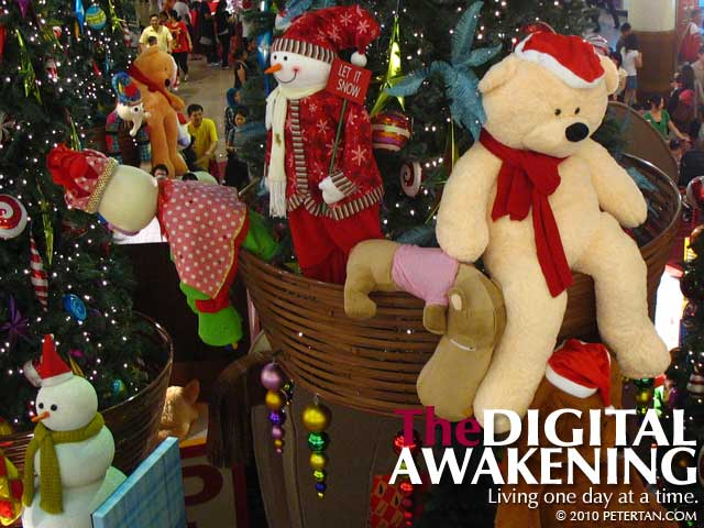 Toys galore for Christmas at Mid Valley Megamall